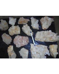 Bergkristall (Quarz), Kristalle auf Matrix, Itremo, Madagaskar, 1 kg