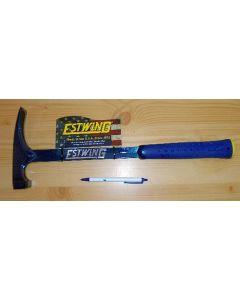 Estwing Geologenhammer (Schürfhammer) langer Griff, 615 g, E6-22BLCL