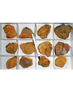 Auripigment, Getchell Mine NV, USA, 1 Steige