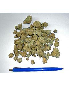 Forsterit, Norwegen, kleine Stücke, 1 kg