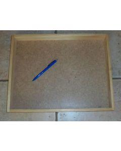 Holzkiste, Holzlade, aus Echtholz, 40 x 31 x 4 cm, 10 Stück