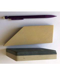 Belgischer Brocken (Schleifstein) Kombination 58-70 mm, irregulär, 4000er + 8000er Körnung