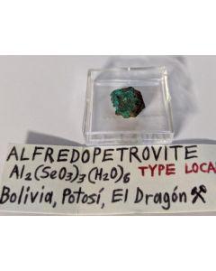 Alfredopetrovit xx; El Dragon Mine, Potosi, Bolivien; MM