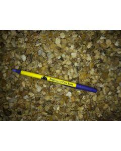 Danburit, gelb, teilweise gemmy, Tanzania, 100 g