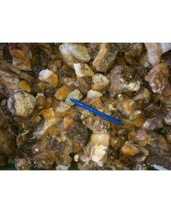 Fluorit (gelb), Uis, Namibia, 1 kg
