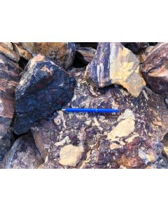 Pyrophyllit, harter Speckstein, bunt, Namibia, 100 kg