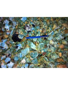 Beryll (Aquamarin), Erongo, Namibia, 100 g