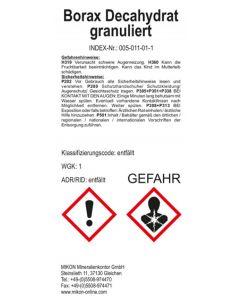 Borax, Natriumtetraborat, 1 kg