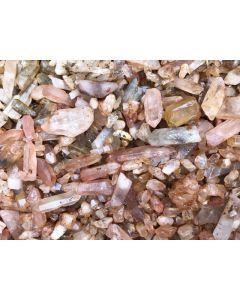 Bergkristall (Quarz), lose Kristalle, Itremo, Madagaskar, 1 kg