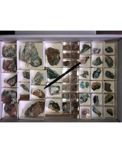 Tyrolit Kristalle auf Matrix, Brixlegg, Tirol, Österreich, 1 Steige