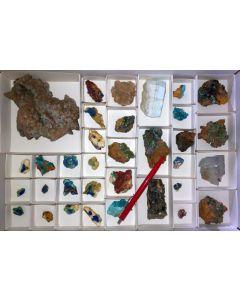 Gemischte Mineralien sehr guter Qualität, Laurion, GR, 1 Steige (#2)