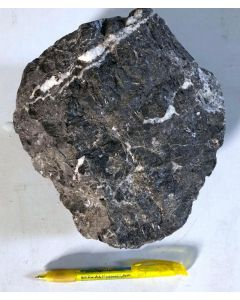 Sphalerit (Zinkblende); Grube Wiemannsbucht, Bad Grund, Harz, D; MS