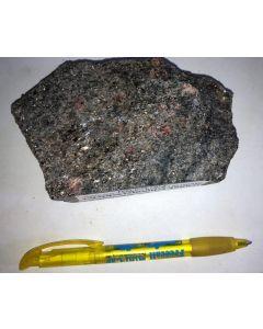 Granat - Glimmerschiefer, Skutterud, Norwegen, HS