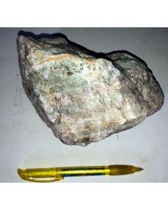 Fluorit + Quarz; Wölsendorf, Bayern, Deutschland; GS