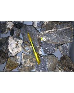 Galenit (Bleiglanz), Sphalerit (Zinkblende), Hahnenklee, Harz, Deutschland, 1 kg