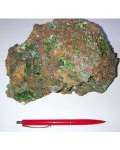 Smithsonit xx (grün!); Barbara Mine, Laurion, Griechenland; GS