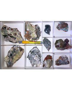 Smithsonit xx (gelb-weiß), Barbara Mine, Laurion, Griechenland, 1 Steige