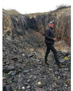 Obsidian (Silberobsidian) Armenien, 100 kg