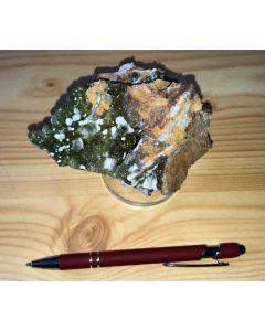 Smithsonit xx (grün!); Barbara Mine, Laurion, Griechenland; HS