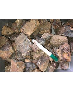 Ludlockit, Nealit etc, Antike Schlacke, Oxygono, Laurion, Griechenland, 1 kg