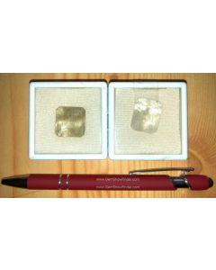 Quarz (mit Tremolit/Chlorit Einschüssen) facettiert 20 mm, Madagaskar