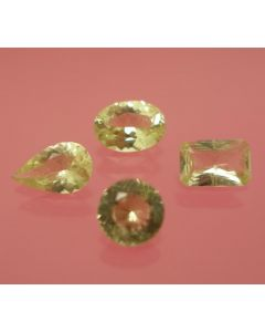 Brazilianite facetted, 3.5 mm, Brazil