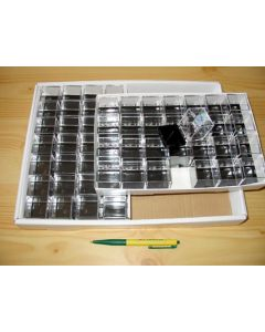 Perky boxes 1 1/4 inch cube, 1 carton of 672