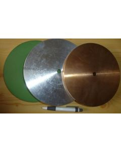 "copper polishing disc 8"""