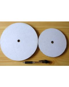 "Plastic Master Lab for polishing discs 6"""
