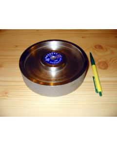 "Diamond-polishing-wheel, 1.5"" width, 6"" diameter, grain 0100"