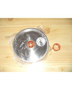 "Diamond wheel, 1"" width, 6"" diameter, grain 0500"
