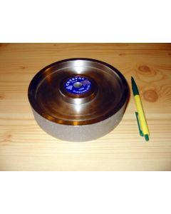 "Diamond-polishing-wheel, 1.5"" width, 6"" diameter, grain 0080"