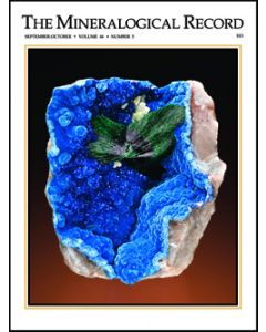 Mineralogical Record full set from Vol. 01, #1 1970 trough vol. 50/6 2019