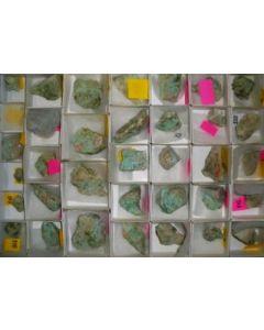 Apachite xx (Top-end specimen!) Christmas Mine, AZ, USA, 1 flat