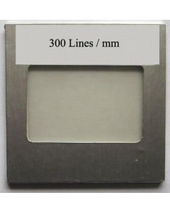 OPL diffraction grating filter with 300 lines