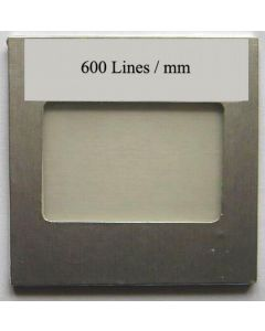OPL diffraction grating filter with 600 lines