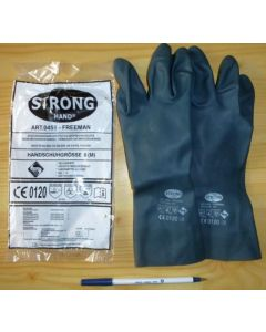 """Protection gloves (chemical protection gloves, acid protection) strong """"Freeman"""""""
