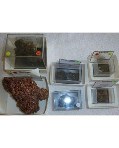 Descloizite xx, Berg Aukas, Namibia, 1 lot of 6 high end specimen