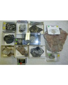 Barite xx; N' Chwaning Mine, Kalahari Manganese Field, Kuruman, RSA; KS