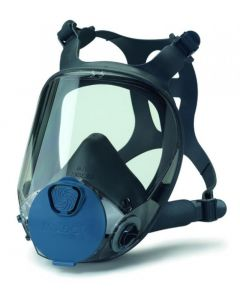 """Full head protection mask (gas mask) in size """"M"""" """"professional"""" with filter"""