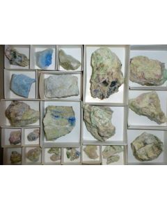 Junitoite xx; Christmas Mine, Gila Co., AZ, USA; NS