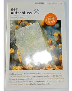 Der Aufschluss, German mineral peridocal (full set)