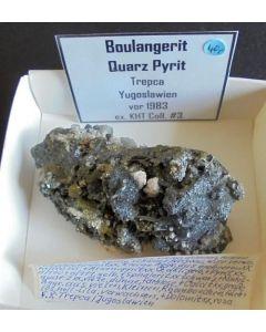 Boulangerite xx; Trepca, Kosovo; NS