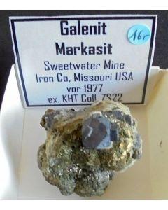 Galena xx; Sweetwater Mine, Joplin, Iron Co., MO, USA; KS