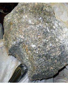 Zinnwaldite (xx); Zinnwald, Erzgebirge, CR; MS