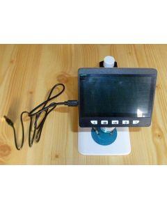 Digital Microscope with illumination + screen MIKON (WEEE-Reg.-Nr. DE 75181174)