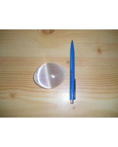 Selenite hand massage stone, 6.5 cm, 20 pieces