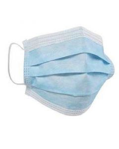 Medical face protection mask, mouth protection, 100 packs of 50 pieces (3-layers, specially in times of Corona!)