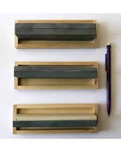 Belgian Whetstone Combination, 4 x 15 cm, 1500 + 4000 grid