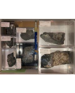 Aris, Windhoek, Namibia; small collection of well identified specimen; 1 lot of 7 specimen